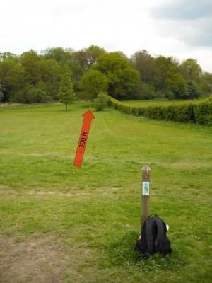 Lloyd Park, Main course, Hole 5 Tee pad