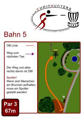 Kreuzlingen Seeburgpark, Main course, Hole 5