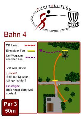 Kreuzlingen Seeburgpark, Main course, Hole 4