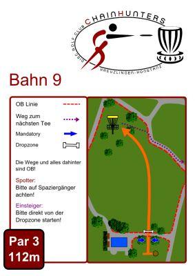 Kreuzlingen Seeburgpark, Main course, Hole 9