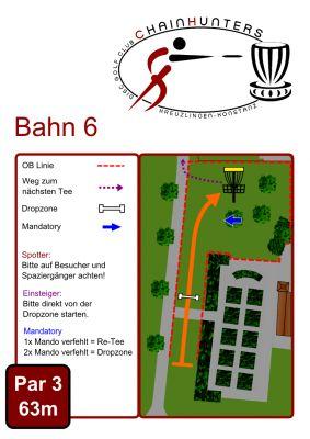 Kreuzlingen Seeburgpark, Main course, Hole 6