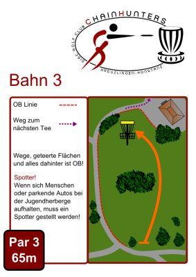 Kreuzlingen Seeburgpark, Main course, Hole 3