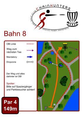 Kreuzlingen Seeburgpark, Main course, Hole 8