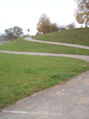 Winterthur-Grüze, Main course, Hole 8 Tee pad