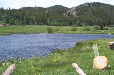 Beaver Meadows Resort Ranch, Main course, Hole 10 Tee pad