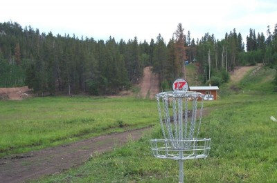 Beaver Meadows Resort Ranch, Main course, Hole 17 Reverse (back up the fairway)