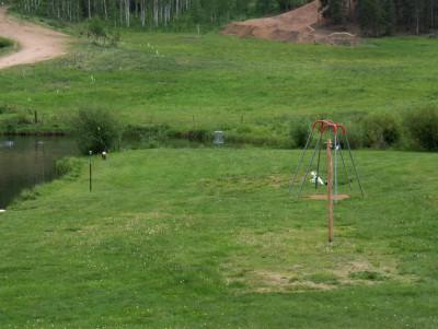 Beaver Meadows Resort Ranch, Main course, Hole 10 Midrange approach