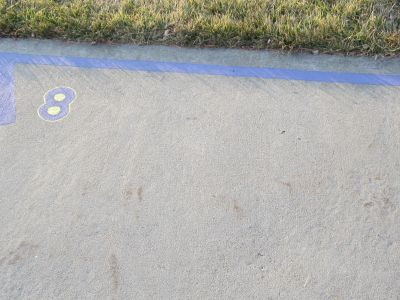 Fort Collins High School, Main course, Hole 8 Tee pad