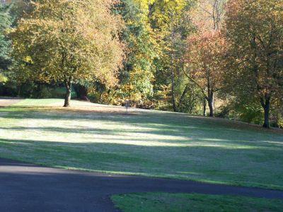 Leverich Park, Main course, Hole 10 Short tee pad