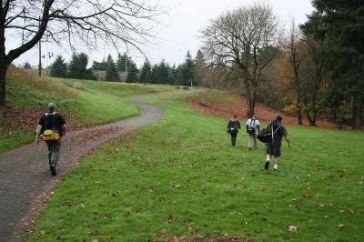 Leverich Park, Main course, Hole 1 Midrange approach
