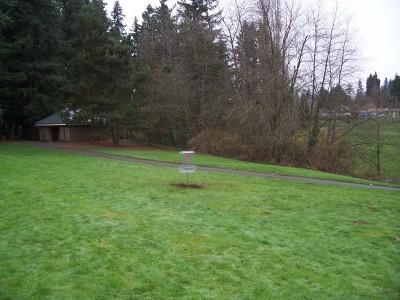 Leverich Park, Main course, Hole 6 Midrange approach