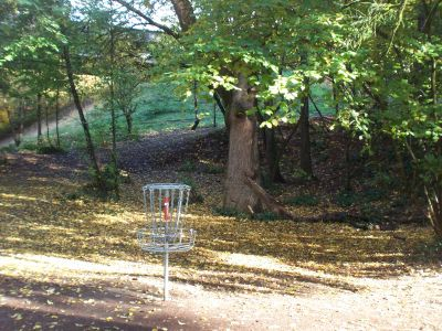 Leverich Park, Main course, Hole 4 Reverse (back up the fairway)