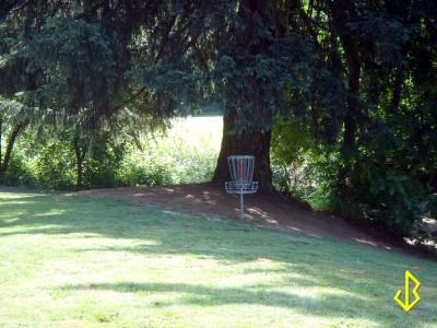 Leverich Park, Main course, Hole 10 Putt