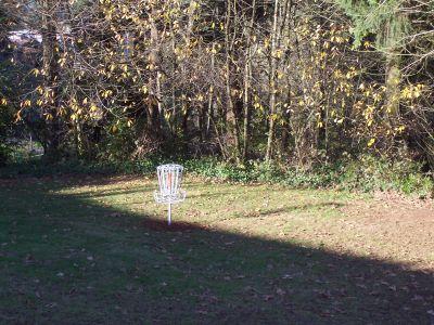 Leverich Park, Main course, Hole 5 Midrange approach