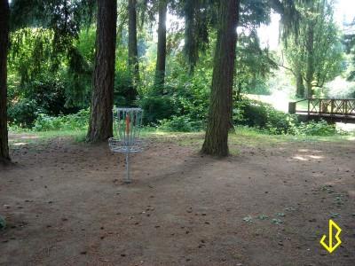 Leverich Park, Main course, Hole 9 Putt