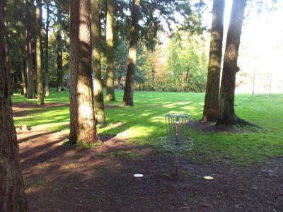 Leverich Park, Main course, Hole 7 Reverse (back up the fairway)