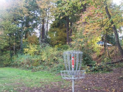 Leverich Park, Main course, Hole 2 Reverse (back up the fairway)