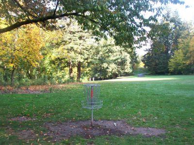 Leverich Park, Main course, Hole 5 Reverse (back up the fairway)