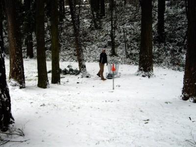 Leverich Park, Main course, Hole 7 Putt