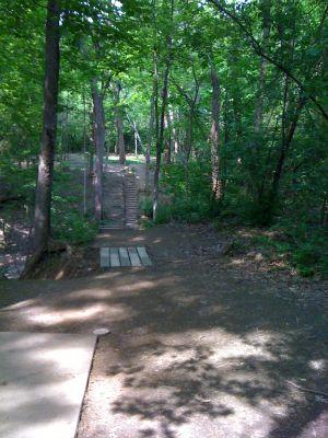Highland Park, Main course, Hole 4 Tee pad