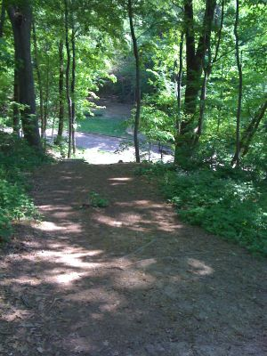 Highland Park, Main course, Hole 12 Short tee pad