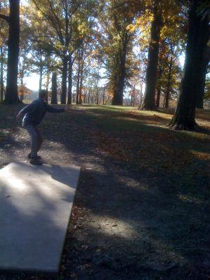 Highland Park, Main course, Hole 7 Tee pad