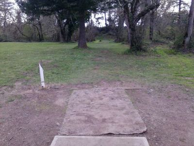 Waterloo, Main course, Hole 5 Tee pad