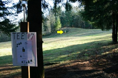 Horning's Hideout, The Highlands, Hole 17 Tee pad