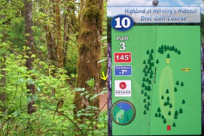 Horning's Hideout, The Highlands, Hole 10 Tee pad