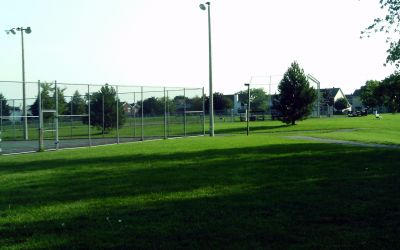 Gardenway Park, Main course, Hole 2 Tee pad