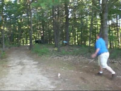 Nunn Holes, Main course, Hole 14 Long tee pad