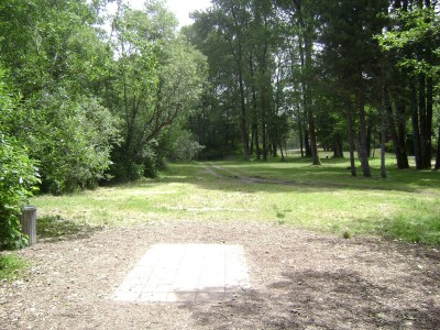 Mad River Pump Station #4, Main course, Hole 7 Tee pad