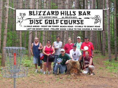 Blizzard Hills, Main course, Hole 2 Reverse (back up the fairway)