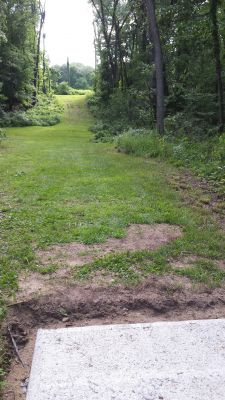 Meyer Broadway Park, North course, Hole 7 Short tee pad