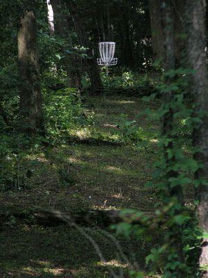 Meyer Broadway Park, North course, Hole 2 Midrange approach
