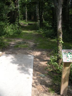 Meyer Broadway Park, North course, Hole 2 Long tee pad
