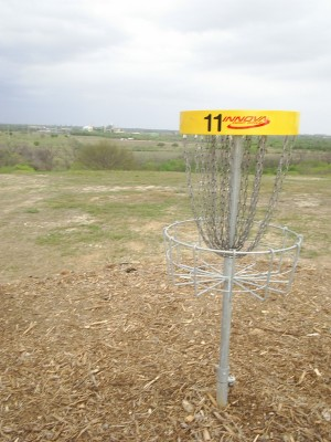 Pearsall Park, Main course, Hole 11 Reverse (back up the fairway)