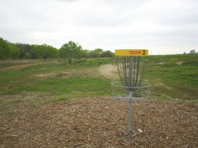 Pearsall Park, Main course, Hole 2 Reverse (back up the fairway)