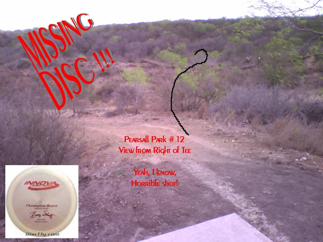 Hole 12 Pearsall Park San Antonio Tx Disc Golf