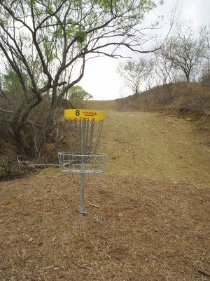 Pearsall Park, Main course, Hole 8 Reverse (back up the fairway)
