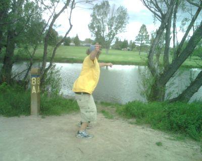 Mylar Park, Main course, Hole 8 Long tee pad