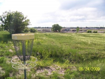 Romero Park, Main course, Hole 6 Reverse (back up the fairway)