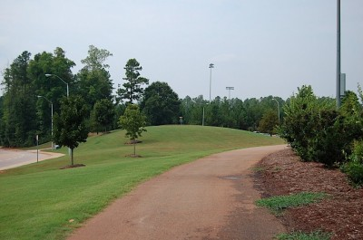 Middle Creek, Main course, Hole 18 Tee pad
