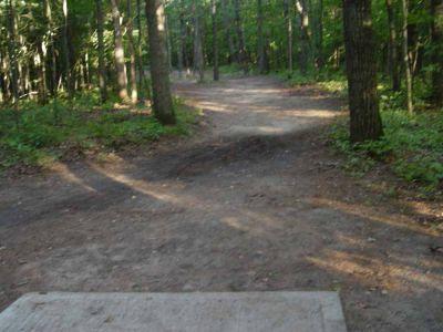 Newaygo State Park, Main course, Hole 16 Long tee pad