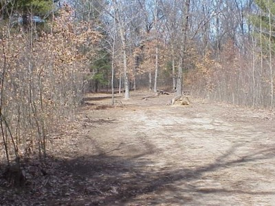Newaygo State Park, Main course, Hole 3 Long tee pad