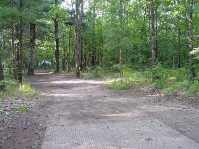 Newaygo State Park, Main course, Hole 5 Long tee pad