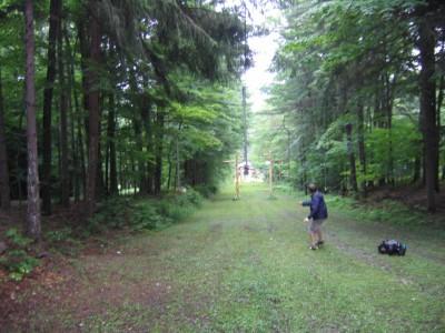 Emery Park, Black Diamond, Hole 1 Long approach