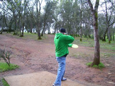 Auburn Regional Park, Main course, Hole 3 Tee pad