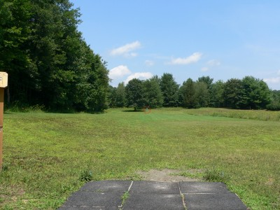Crane Hill, Main course, Hole 1 Tee pad