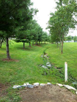 Randolph Park, Main course, Hole 15 Tee pad